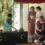 Tea ceremony at Japan day celebration