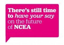 There's still time to have your say on the future of NCEA